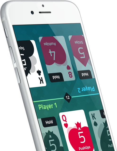 FitPoker App for iPhone