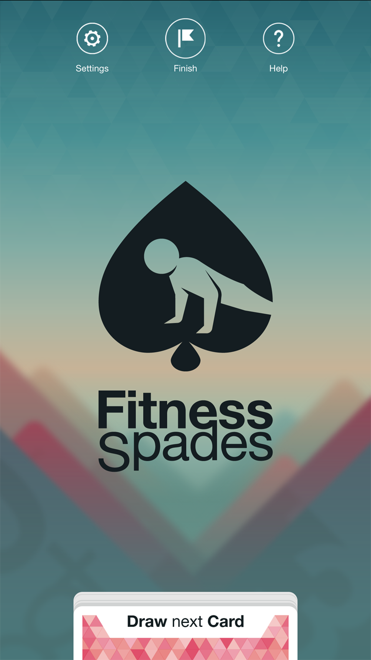 fitness spades screenshot